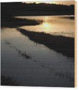 Palsko Lake Wood Print