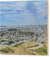 San Francisco Skyline  Wood Print