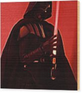 Star Wars Heroes Art Wood Print