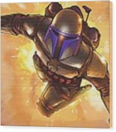 Star Wars On Poster Wood Print