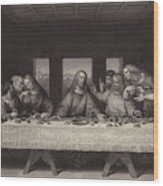 The Last Supper  Wood Print