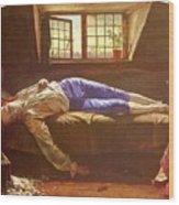 Wallis Henry The Death Of Chatterton Henry Wallis Wood Print