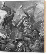 Warhammer Wood Print