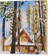 #140 Gatekeepers Museum Wood Print
