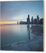 1415 Chicago Wood Print