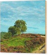 Oil Painting Landscape Pictures Nature Wood Print