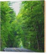 Nature Art Original Landscape Paintings Wood Print