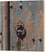 14th Century Door In France Wood Print