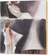 dracula John J Muth Wood Print