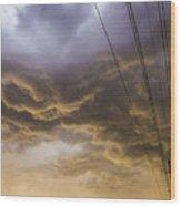 First Nebraska Storm Chase 2015 Wood Print