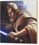 Jedi Star Wars Art Wood Print
