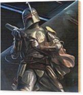 Movies Star Wars Art Wood Print