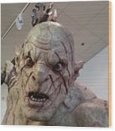 New Zealand - Azog, Lord Of The Rings Wood Print