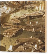 Onondaga Cave Formations Wood Print