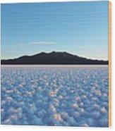 Salar De Uyuni, Bolivia Wood Print