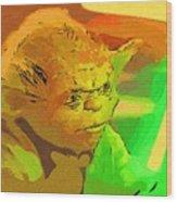 Star Wars Old Art Wood Print