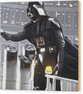 Star Wars The Poster Wood Print