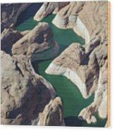 Tributary To Lake Powell Wood Print
