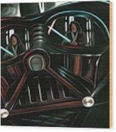 Vintage Star Wars Art Wood Print