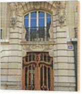 151 Rue De Grenelle Paris Wood Print