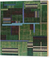 1522 Abstract Thought Wood Print