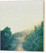 Landscape Art Nature Wood Print