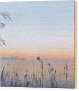 Nature Oil Paintings Landscapes Wood Print