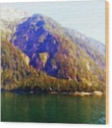 Nature Oil Painting Landscape Images Wood Print