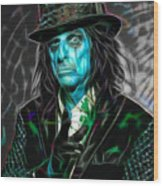Alice Cooper Collection Wood Print