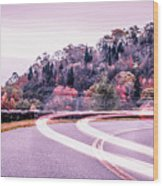 Autumn Season On Blue Ridge Parkway Wood Print