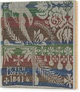 Coverlet Wood Print