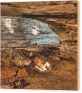 Great Saltpetre Cave Wood Print