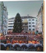 Innsbruck Austria Wood Print