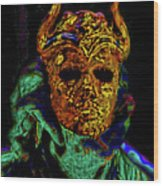 Mask. The Sons Of The Harpy. Fantasy. Wood Print