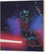 Saga Star Wars Poster Wood Print