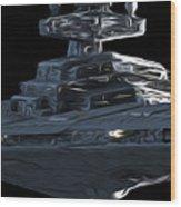 Wars Star Art Wood Print