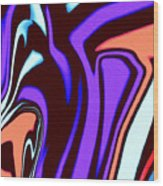 1631 Abstract Thought Wood Print