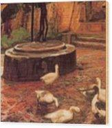 16450 Nicanor Pinole Wood Print