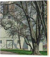168 Marshfield Farm Wood Print