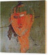 16937 Amedeo Modigliani Wood Print