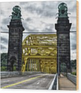 16th Street Bridge Wood Print