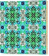 Arabesque 109 Wood Print
