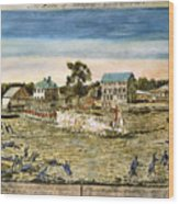 Battle Of Lexington, 1775 Wood Print