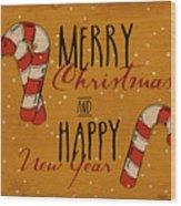 Christmas Greetings Wood Print