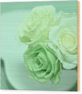How To Make Preservrd Flower And Clay Flower Arrangement, Making Wood Print