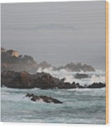 17 Mile Drive - Monterey Wood Print