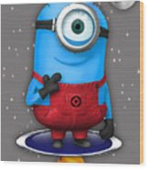 Minions Collection Wood Print