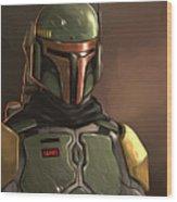 Star Wars Episode 3 Poster Wood Print
