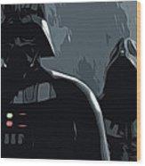 Star Wars Galaxies Art Wood Print