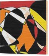 170105f Wood Print